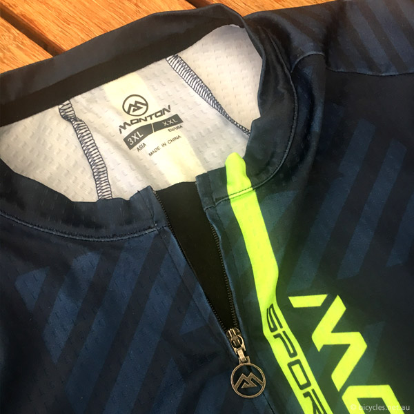 monton cycling jersey review sizing