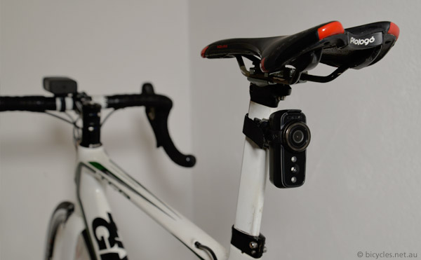 cycling fly6 mounted seatube