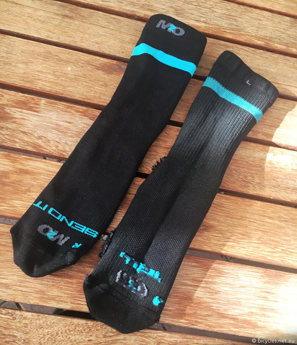 m2o compression socks review