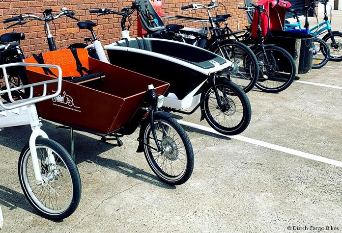 ebike cargo bike transporter